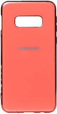 case chehol electroplate galaxy nakladka pink s10e samsung toto tpu