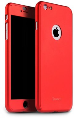 360pc66sred apple case chehol full ipaky iphone nakladka protection