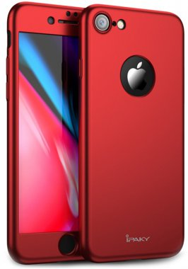 360pc7red apple case chehol full ipaky iphone nakladka plus plus8 protection