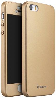 360pc apple case chehol full gold ipaky iphone nakladka protection se5s5