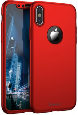 360pcxsmaxred apple case chehol full ipaky iphone nakladka protection