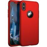 Чехол-накладка Ipaky 360 PC Full Protection Case Apple iPhone XS Max Red