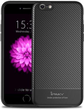 66s apple black carbon case chehol fiber ipaky iphone nakladka seriestpu with