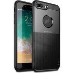 Чехол-накладка Ipaky Shield Series/Elegant Grid Design TPU Hybrid Case Apple iPhone 7 Plus/8 Plus Black