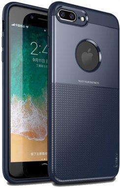 apple blue case chehol design grid hybrid ipaky iphone nakladka plus plus8 serieselegant shield tpu7