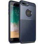 Чехол-накладка Ipaky Shield Series/Elegant Grid Design TPU Hybrid Case Apple iPhone 7 Plus/8 Plus Blue