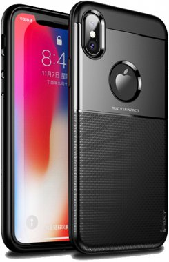 apple black case chehol design grid hybrid ipaky iphone nakladka serieselegant shield tpuxs