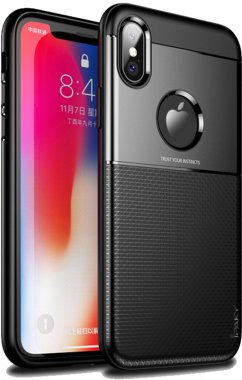 apple black case chehol design grid hybrid ipaky iphone nakladka serieselegant shield tpuxsmax