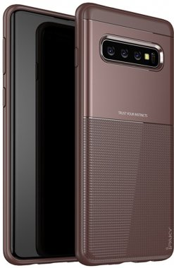 brown case chehol design galaxy grid hybrid ipaky nakladka samsung serieselegant shield tpus10