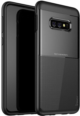 black case chehol design galaxy grid hybrid ipaky nakladka s10e samsung serieselegant shield tpu