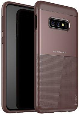 brown case chehol design galaxy grid hybrid ipaky nakladka s10e samsung serieselegant shield tpu