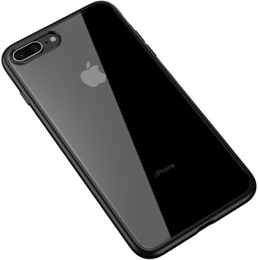 apple black bright case chehol clear frame ipaky iphone nakladka pc7 plus plus8 seriestpu with