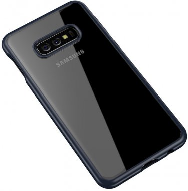 blue bright case chehol clear frame galaxy ipaky nakladka pc s10e samsung seriestpu with