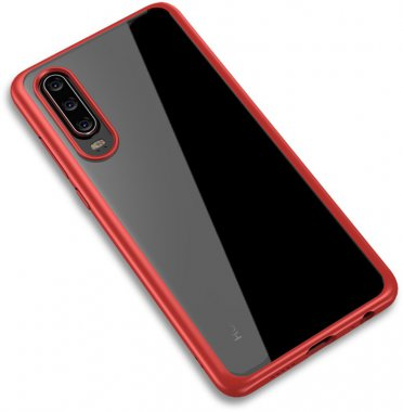 bright case chehol clear frame huawei ipaky nakladka pcp30red seriestpu with
