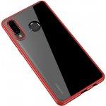 Чехол-накладка Ipaky Bright Series/TPU frame With Clear PC Case для Huawei P30 Lite Red