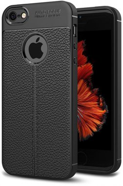 apple black case chehol ipaky iphone litchi nakladka se5s5 series stria tpu