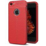 Чехол-накладка Ipaky TPU Litchi Stria Series Case Apple iPhone SE/5s/5 Red