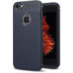 Чехол-накладка Ipaky TPU Litchi Stria Series Case Apple iPhone SE/5s/5 Blue