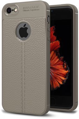 apple case chehol gray ipaky iphone litchi nakladka se5s5 series stria tpu