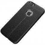 Чехол-накладка Ipaky TPU Litchi Stria Series Case Apple iPhone 6/6s Black