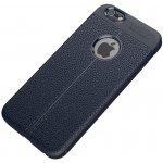 Чехол-накладка Ipaky TPU Litchi Stria Series Case Apple iPhone 6/6s Blue