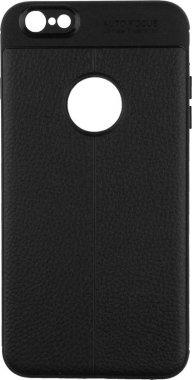 Чехол-накладка Ipaky TPU Litchi Stria Series Case Apple iPhone 6 Plus/6s Plus Black
