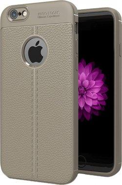 Чехол-накладка Ipaky TPU Litchi Stria Series Case Apple iPhone 6 Plus/6s Plus Gray
