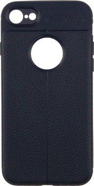 Чехол-накладка Ipaky TPU Litchi Stria Series Case Apple iPhone 7/8 Blue