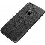 Чехол-накладка Ipaky TPU Litchi Stria Series Case Apple iPhone 7 Plus/8 Plus Black