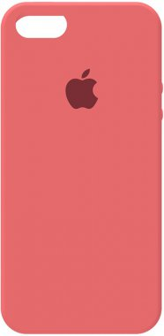 55sse apple case chehol iphone nakladka peach pink silicone