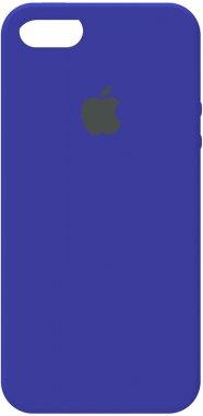 55sse apple blue case chehol iphone nakladka royal silicone