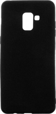 Чехол-накладка TOTO 1mm Matt TPU Case Samsung Galaxy A8+ 2018 Black