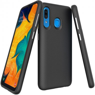 a20 black case chehol galaxy nakladka samsung toto tpupluspc triangle