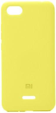 6a case chehol lemon nakladka redmi silicone xiaomi yellow