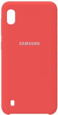 a10 case chehol galaxy nakladka peach pink samsung silicone