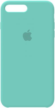 7ice apple blue case chehol iphone nakladka plus plus8 silicone