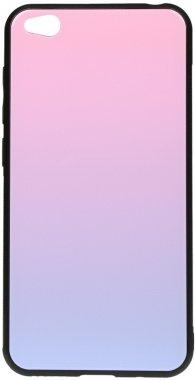 Чехол-накладка TOTO Glass Case Gradient для Xiaomi Redmi Go Pink