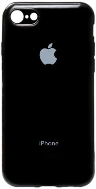 Чехол-накладка TOTO Electroplate TPU Case Apple iPhone 6/6s Black