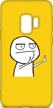 Чехол-накладка TOTO Cartoon Soft Silicone TPU Case Samsung Galaxy S9 FK2 Yellow