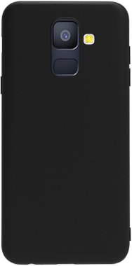 Чехол-накладка TOTO 1mm Matt TPU Case Samsung Galaxy A6 2018 Black