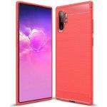 Чехол-накладка Ipaky Slim Anti-Fingerprint TPU Case Samsung Galaxy Note 10+ Red