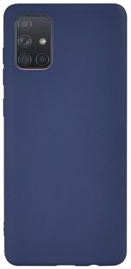 Чехол-накладка TOTO 1mm Matt TPU Case Samsung Galaxy A71 Navy Blue