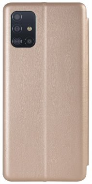 Чехол-книжка TOTO Book Rounded Leather Case Samsung Galaxy A51 Gold