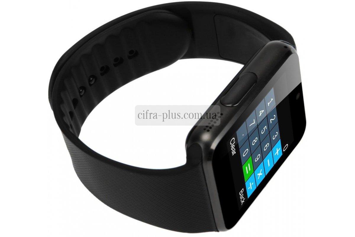 Смарт-часы UWatch Smart GT08 Black - Магазин техники Цифра 414e7b7ebbbe5