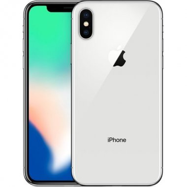 Смартфон Apple iPhone X 64Gb Silver (MQAD2) Б/У