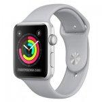Смарт-часы Apple Watch Series 3 GPS 42mm Silver Aluminum w. Fog Sport B. - Silver (MQL02)