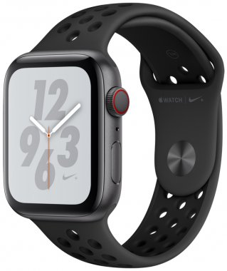 Apple Watch Series 4 Nike+ (GPS + Cellular) 44mm Space Gray Aluminum Case with Anthracite/Black Nike Sport Band