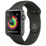 Смарт-часы Apple Watch Series 3 GPS 42mm Space Gray Aluminum w. Gray Sport B. - Space Gray (MR362)