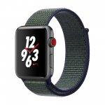 Смарт-часы Apple Watch Nike+ Series 3 GPS + Cellular 42mm Space Gray Aluminum w. Midnight Fog Nike Sport L. (MQLH2, MQMK2)