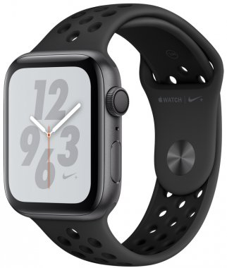 Смарт-часы Apple Watch Series 4 Nike+ (GPS) 44mm Space Gray Aluminum Case with Anthracite/Black Nike Sport Band